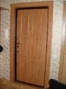 сальная дверь, внутренняя отделка - накладка МДФ