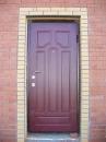стальная дверь, наружняя и внутренняя отделки - накладки МДФ