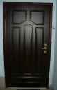стальная дверь, наружняя и внутренняя сторона - накладки МДФ